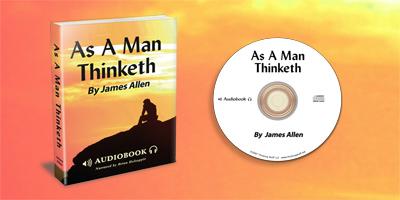 As A Man Thinketh Audiobook on CD