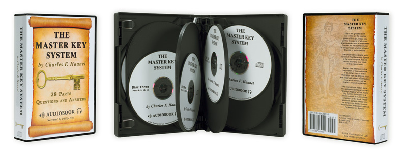 The Master Key System on 9 Audio CDs