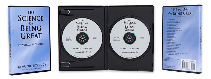 The Science Of Being Great on 2 Audio CDs