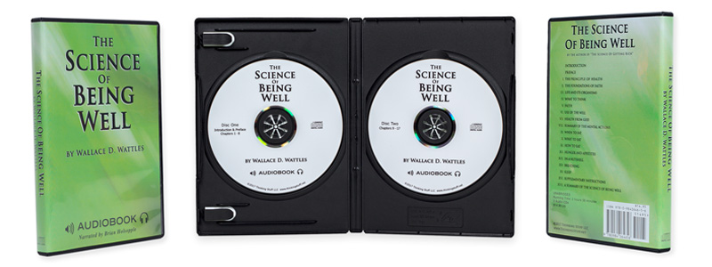 The Science Of Being Well on 2 Audio CDs
